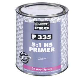 HB Body Pro P335 5:1 HS High Build Filling-Sealing Primer Grey