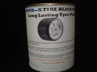 Rapid-X Tyre Black Paint